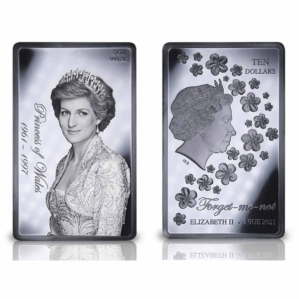 2021 Niue Lady Diana Black Proof Silver Coin