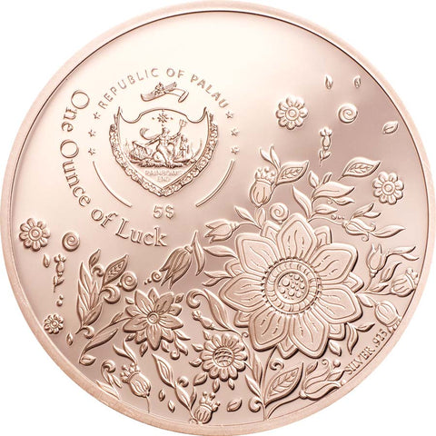 "2021 Palau 1 Ounce ""Ounce of Luck"" Silver Proof Coin"