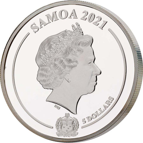 2021 Samoa Golden Insect Coin Collection