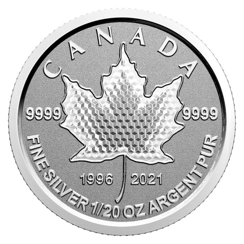 "2021 ""Pulsating Maple Leaf"" 25th Anniversary Silver Coin Set"