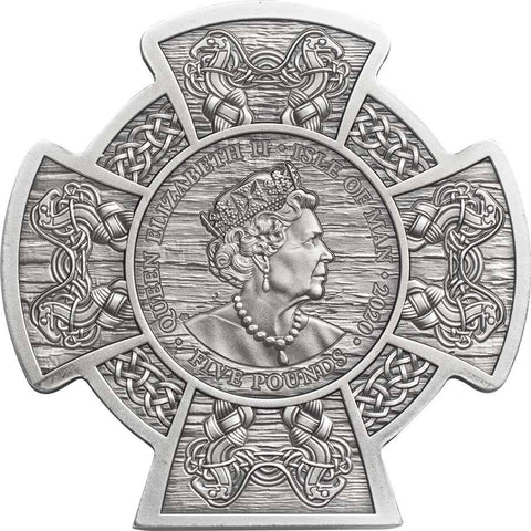 2020 Isle of Man 3 Ounce Boudica Warrior Queen High Relief Silver Coin