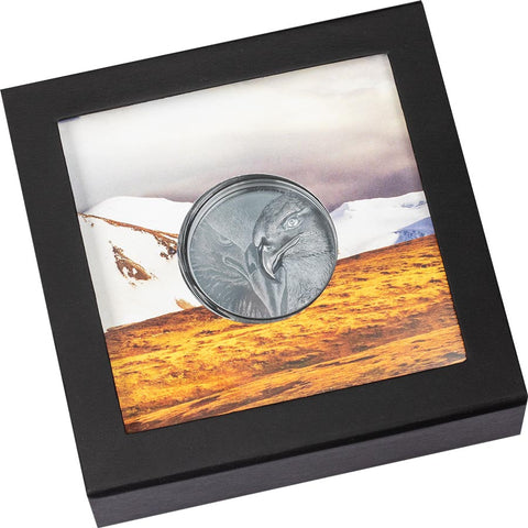 Majestic Eagle Black Proof Silver Coin