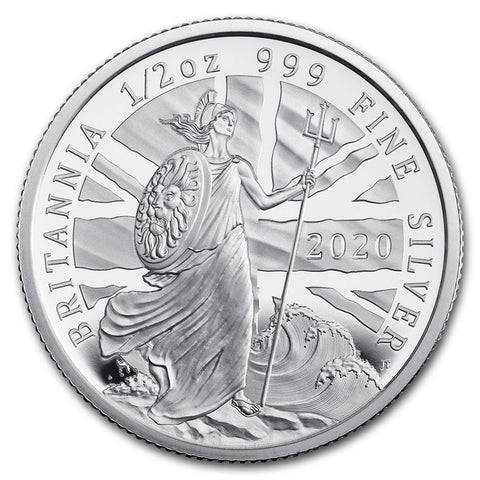2020 Great Britain 1/2 Ounce Silver Proof Coin