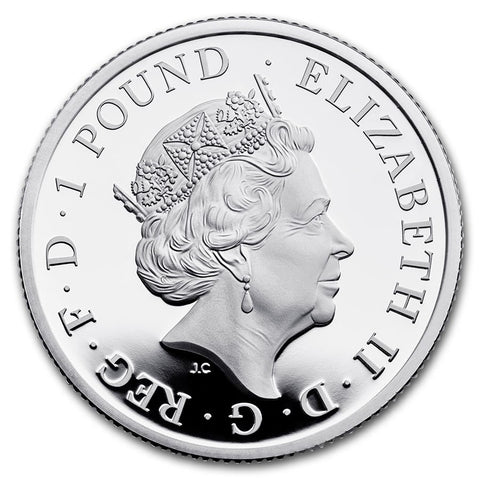 2020 UK 1/2 Ounce Silver Proof Coin