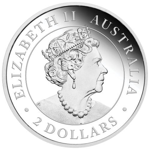 2020 Australia 2 Ounce Wedge Tailed Eagle Piedfort Silver Coin