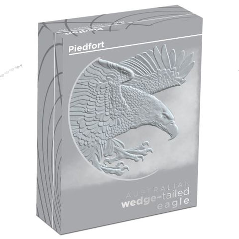 Australian Wedge Tailed Eagle Piedfort Silver Proof Coin