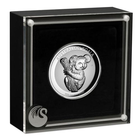 2020 1 Ounce Koala Incused High Relief Silver Coin