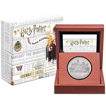 Harry Potter Hogwarts Castle Silver Coin