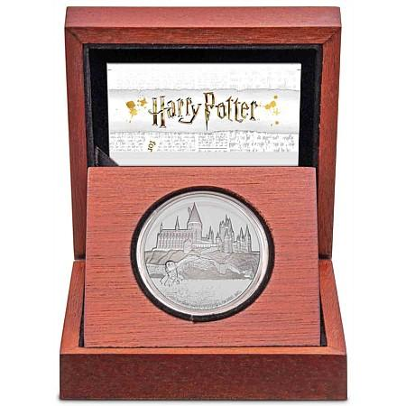Harry Potter Hogwarts Castle Silver Proof Coin