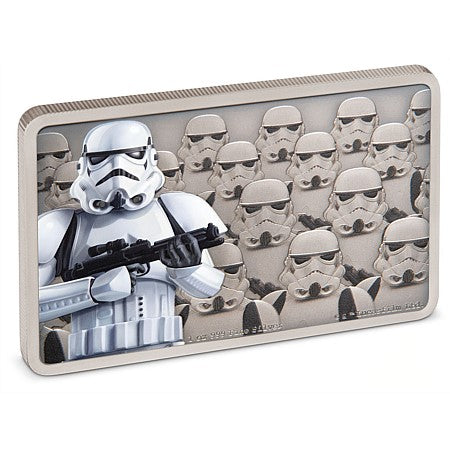 2020 Niue 1 Ounce Guards Of The Empire - Stormtrooper Silver Proof Coin