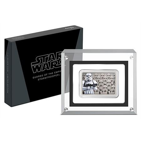 2020 Star Wars Guards Of The Empire - Stormtrooper Silver Coin