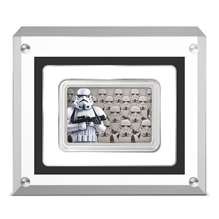 Star Wars Guards Of The Empire - Stormtrooper Silver Coin