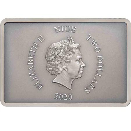 2020 Niue Guards Of The Empire - Stormtrooper Silver Proof Coin