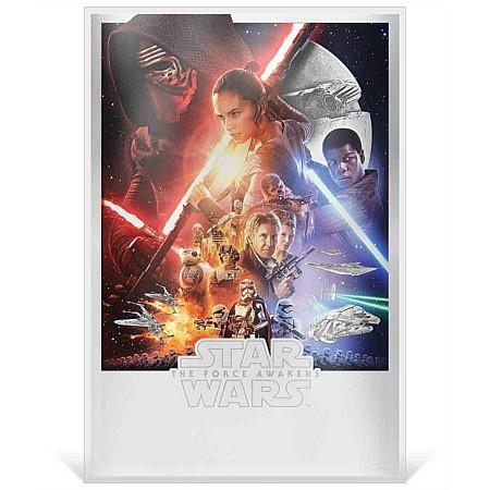2019 Niue 35 Gram Star Wars:  The Force Awakens Premium Silver Foil Note