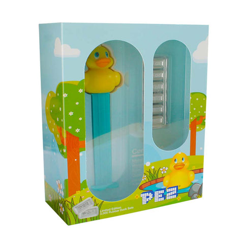2020 30 Gram PAMP Suisse PEZ Rubber Duck Candies and Dispenser Silver Wafers