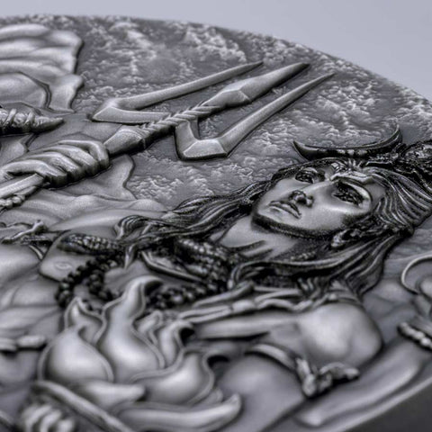 2020 Cook Islands Shiva Gods of the World Silver Coin