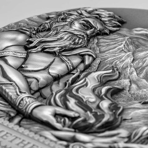 2020 Titan Promethius Ultra High Relief Coin