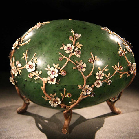 Faberge Apple Blossom Egg