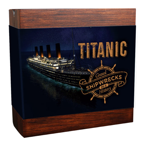2020 Titanic Grand Shipwrecks Silver Coin