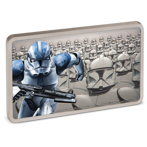 2020 Niue 1 Ounce Guards Of The Empire - Clone Trooper Silver Proof Coin