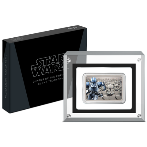 2020 Niue Guards Of The Empire - Clone Trooper Silver Proof Coin