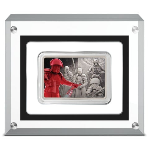 2020 Star Wars Guards Of The Empire - Praetorian Guard Silver Proof Coin
