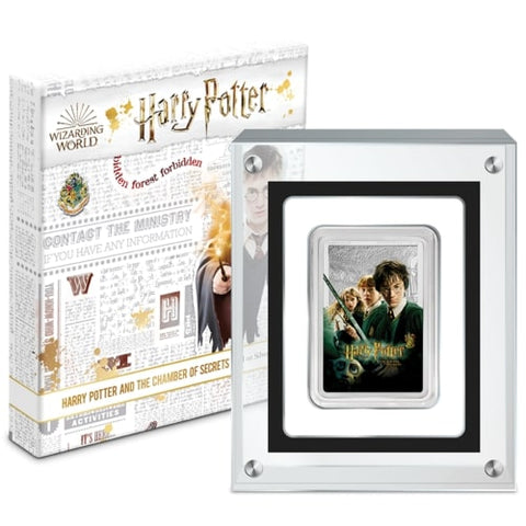 Harry Potter Chamber of Secrets Silver Proof Coin