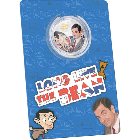 2020 Mr. Bean 30th Anniversary Celebration Silver Coin