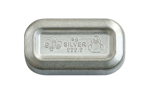 2020 PEZ Rubber Duck Candies Silver Wafers