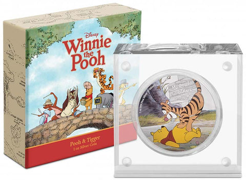 2020 Niue Pooh and Tigger Silver Proof Coin