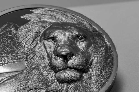 2021 Tanzania 2 Ounce Lions - Growing Up Silver Proof Coin