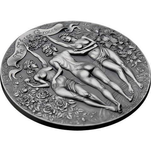 2020 Three Graces Celestial Beauty Silver Coin
