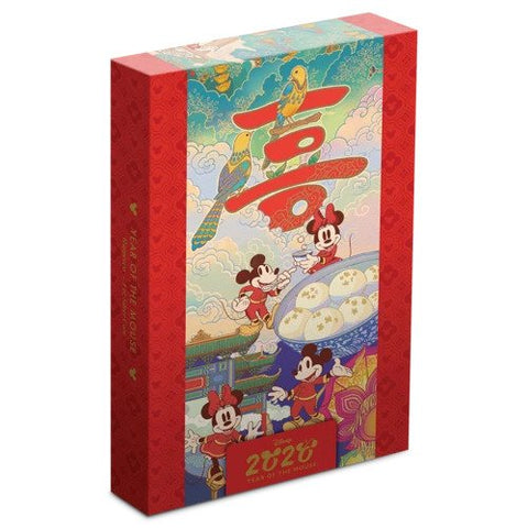 2020 Niue Disney Year of the Mouse - Happiness Silver Proof Coin