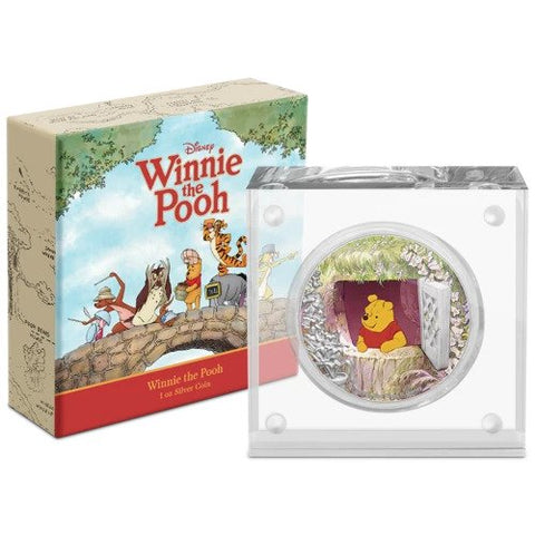 2020 Niue Disney - Winnie the Pooh Silver Proof Coin