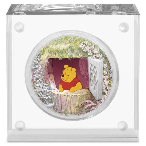 2020 Niue 1 Ounce Disney - Winnie the Pooh Silver Proof Coin
