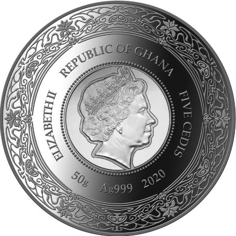 Hygieia Goddess of Health Silver Coin