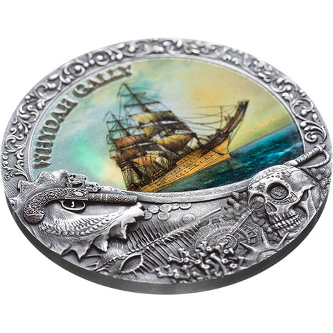 2019 Niue Whydah Gally Grand Shipwrecks Silver Coin