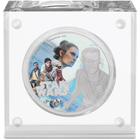 2019 The Rise of Skywalker - Rey Silver Proof Coin
