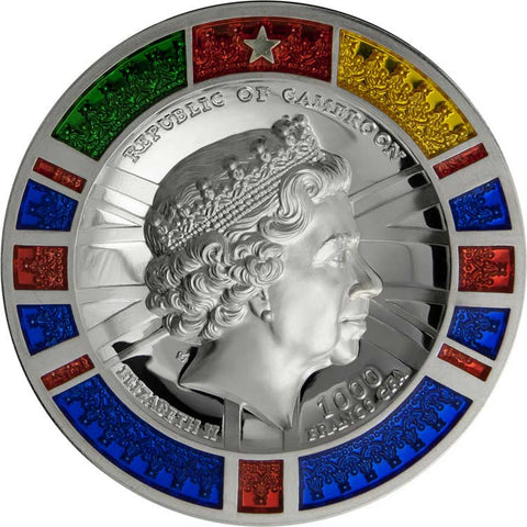 2020 Cameroon Polar Bear Ultra High Relief Silver Coin