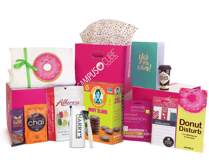 Girls Feb Back to School 2017 College Care Package