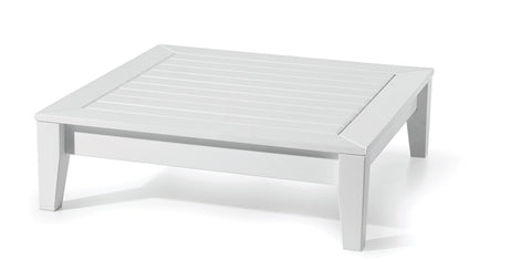 Seaside Casual Cambridge Deep Seating Ottoman with Cushion - [price] | The Adirondack Market
