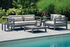 Image of Seaside Casual Cambridge Deep Seating Club Chair with Cushions - [price] | The Adirondack Market