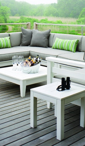Seaside Casual Southport Bunching Table - [price] | The Adirondack Market