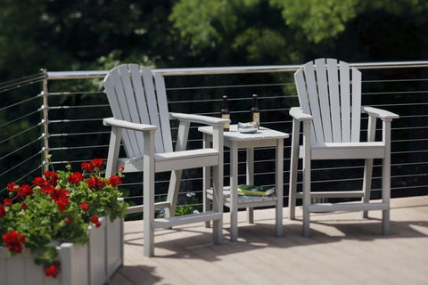 Seaside Casual Adirondack Shellback Balcony Chair