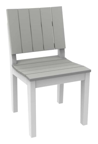 Seaside Casual MAD Fusion Dining Side Chair with Solid Back and Seating Areas — Order Now for October Delivery