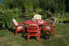 Image of Seaside Casual Adirondack Shellback Dining Chair - [price] | The Adirondack Market