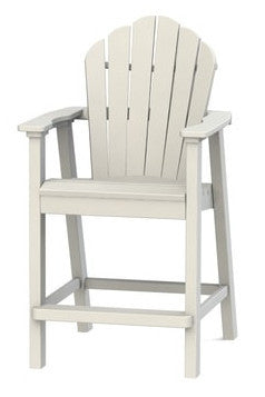 Seaside Casual Classic Adirondack Balcony Chair - [price] | The Adirondack Market