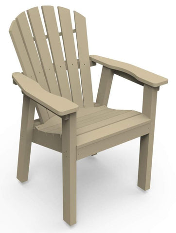 Seaside Casual Adirondack Shellback Dining Chair - [price] | The Adirondack Market