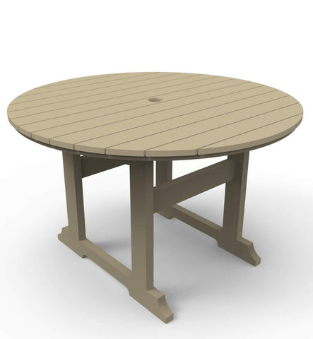 "Seaside Casual Salem 48"" Round Dining Table — Order Now for late December Delivery"