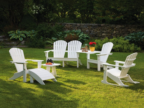 Seaside Casual Adirondack Chair Tête-à-Tête - [price] | The Adirondack Market